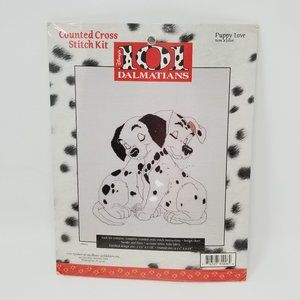 Disney's 101 Dalmatians Counted Cross Stitch Kit